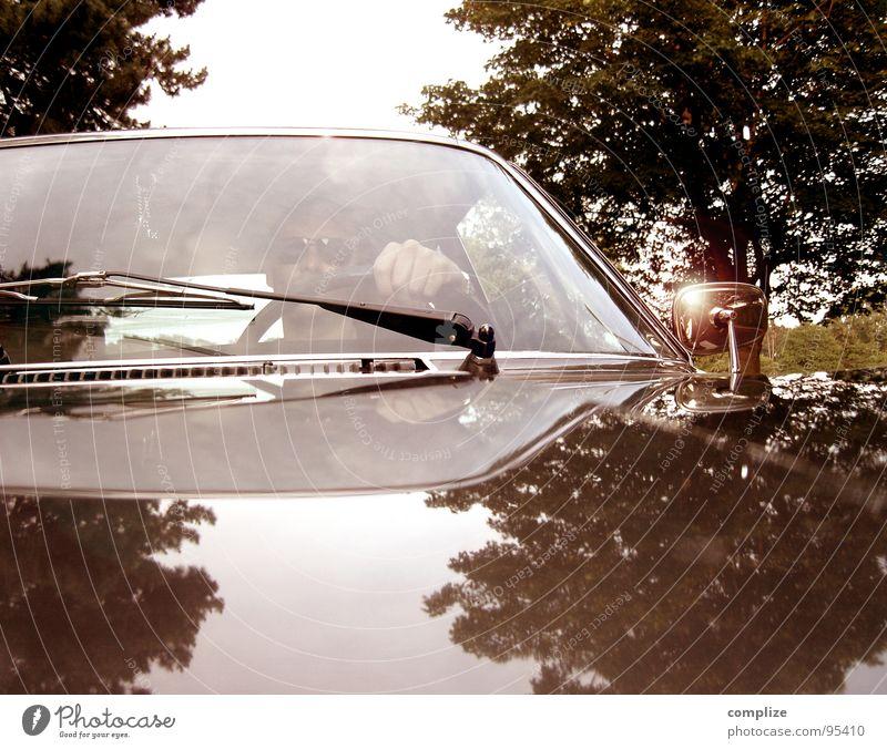 I stole my sister's boyfriend... Freude Sommer Motorsport Mann Erwachsene Wind Verkehr Straßenverkehr Fahrzeug PKW Oldtimer Sportwagen fahren Geschwindigkeit