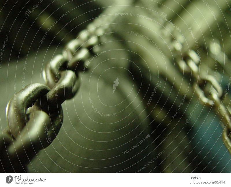 chain Kettenglied Eisen Metall Industrie Verbindung Feste & Feiern Perspektive
