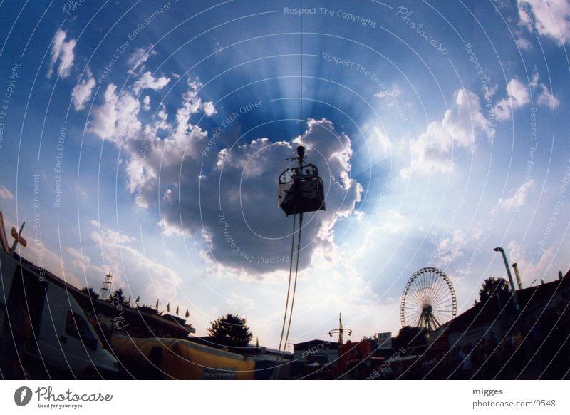 bungeesky Himmel Wolken Extremsport Bungee