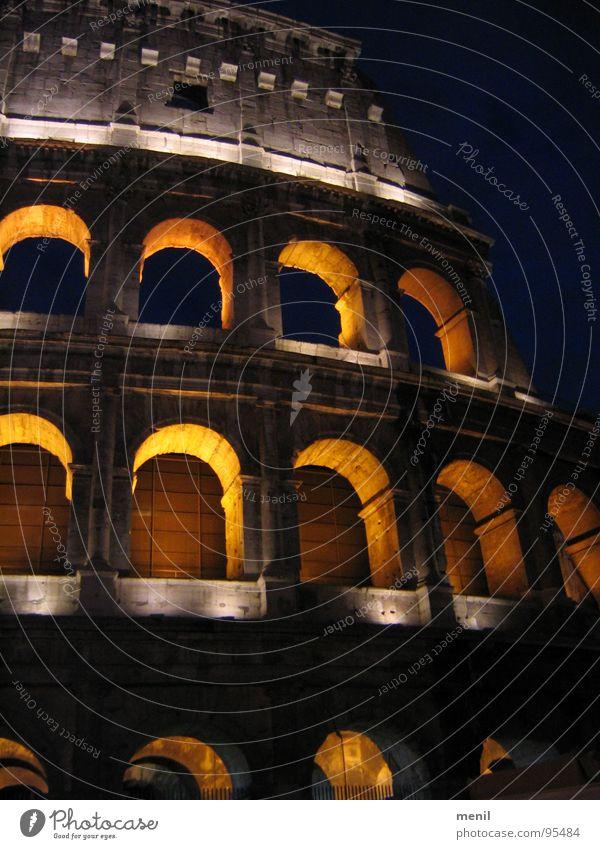 Arena Rom alt Kunst Italien Denkmal Ruine Wahrzeichen Sehenswürdigkeit Kolosseum