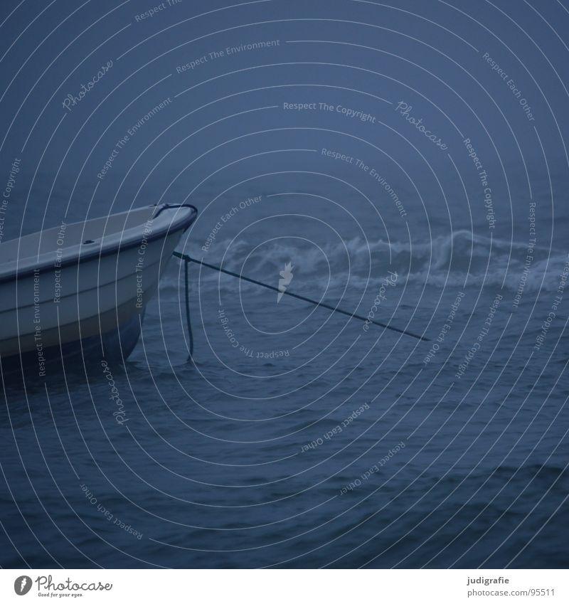 Küstennebel Wasser Meer Strand dunkel See Wasserfahrzeug Wellen Küste Nebel Seil Leidenschaft Schifffahrt Ostsee Fischereiwirtschaft Gischt maritim