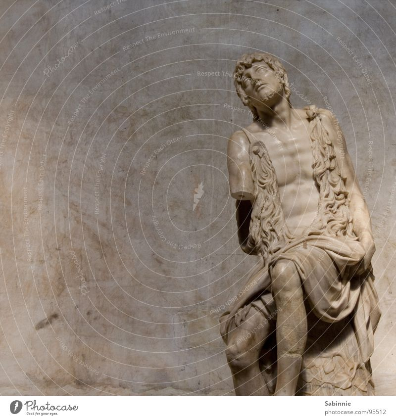 Ach, ich fühls Religion & Glaube Statue Venedig Italien Marmor Gotteshäuser
