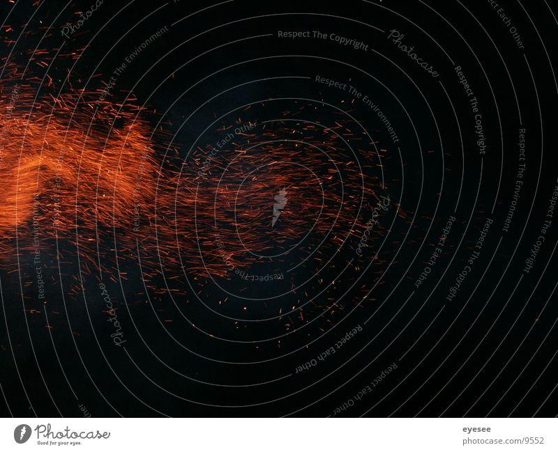 spiel mit dem feuer 3 rot Langzeitbelichtung Brand orange eyesee