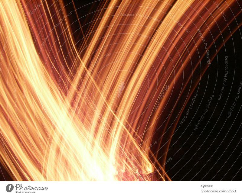 spiel mit dem feuer 4 rot Langzeitbelichtung Brand orange eyesee