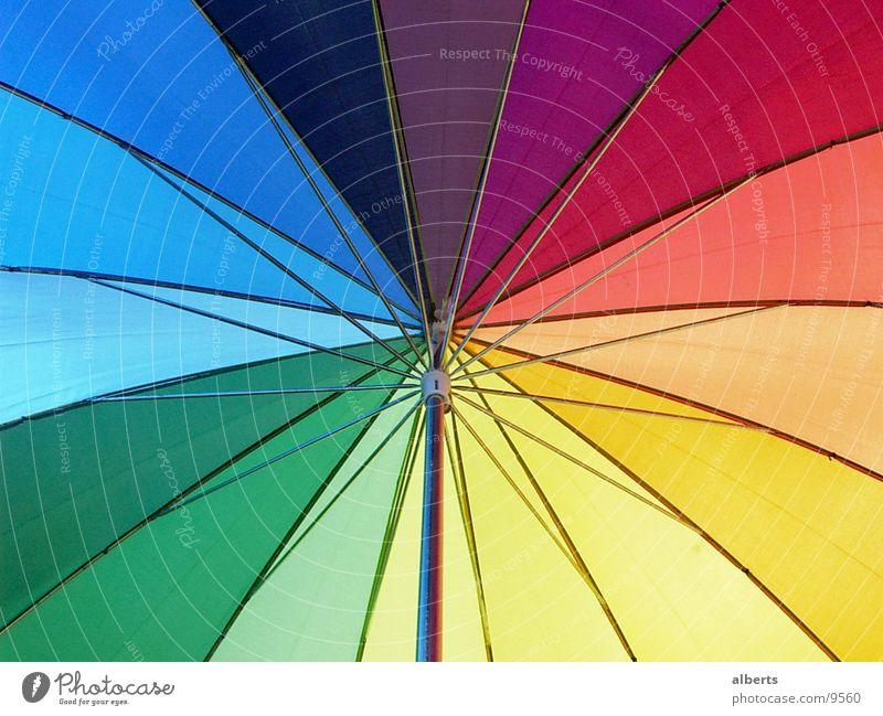Schirm Sonne Wetter Regen Regenschirm Häusliches Leben Dinge rain Farbfoto mehrfarbig Außenaufnahme Detailaufnahme Menschenleer Tag Licht