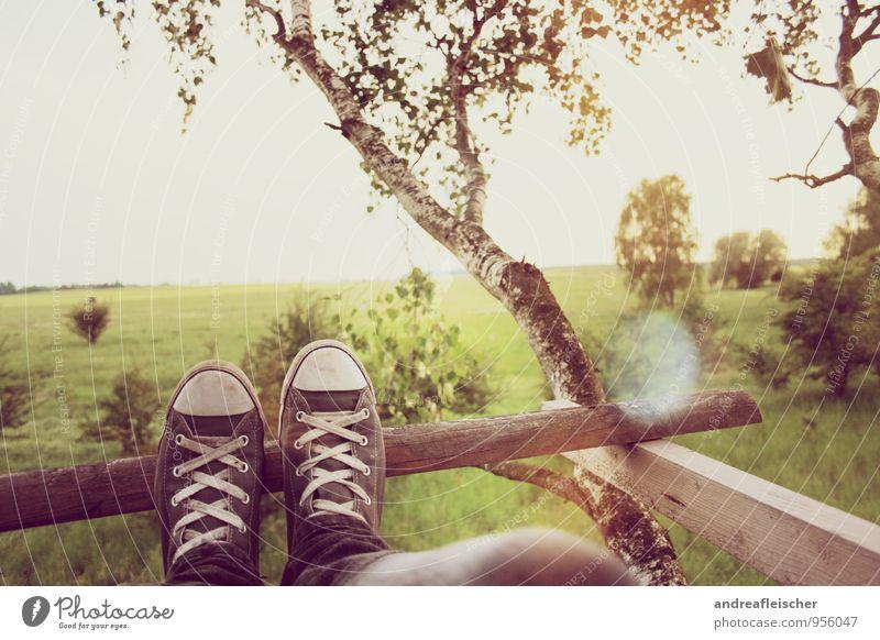 Entspannung pur Lifestyle harmonisch Zufriedenheit Erholung ruhig Ferien & Urlaub & Reisen Ausflug Sommer maskulin feminin Junge Frau Jugendliche Junger Mann