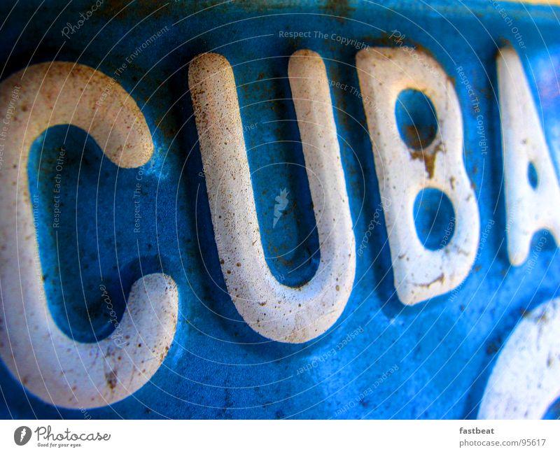 numberplate cuba Kuba Südamerika