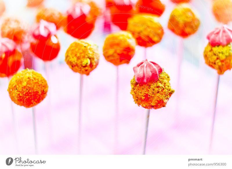 Niedliche Lutscher für Kinder Lebensmittel Dessert Süßwaren Ernährung Essen Büffet Brunch Diät Kakao Geburtstag Koch Zähne grün rosa rot weiß Gefühle Liebe