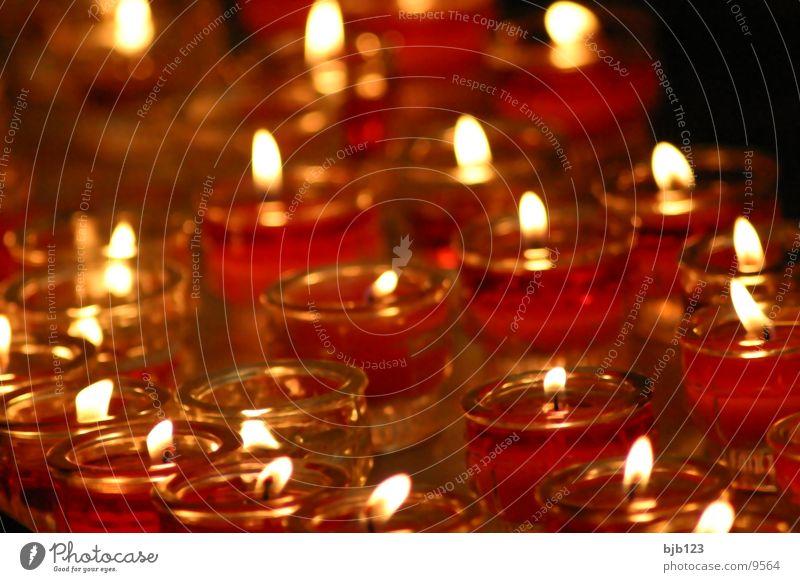 Opferkerzen Kerze obskur Opferlicht Licht Religion & Glaube