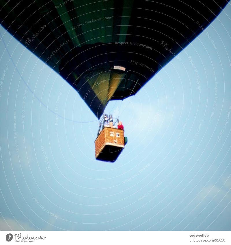 good luck mr fogg Freizeit & Hobby Abenteuer Luftverkehr Fluggerät Ballone fliegen hängen Pünktlichkeit Ferien & Urlaub & Reisen Tourismus steigen Ballonfahrt