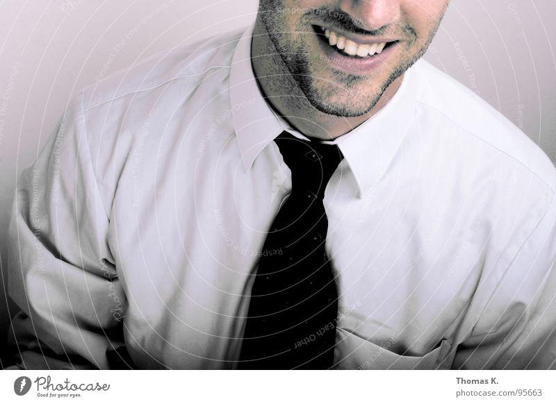 There is no business like show business lachen Business Arbeit & Erwerbstätigkeit Erfolg Bildung Freundlichkeit Hemd Beratung Anzug Dienstleistungsgewerbe Ladengeschäft Informationstechnologie grinsen Techniker Krawatte Aktien