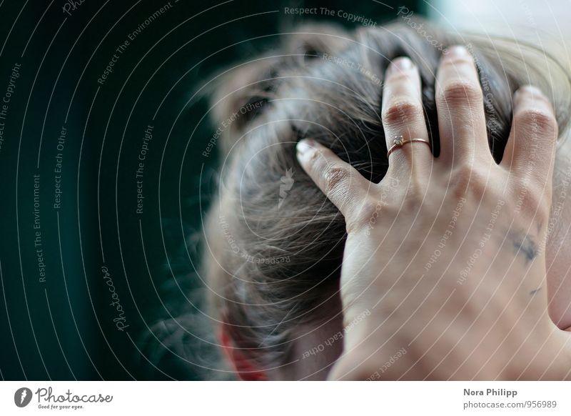 contact Lifestyle schön Körper Mensch feminin Junge Frau Jugendliche Freundschaft Kopf Haare & Frisuren Hand Finger 2 13-18 Jahre Kind 18-30 Jahre Erwachsene
