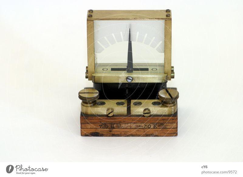 Voltmeter 1 historisch Fotokamera Elektrisches Gerät Technik & Technologie alt Gehäuse Detailaufnahme