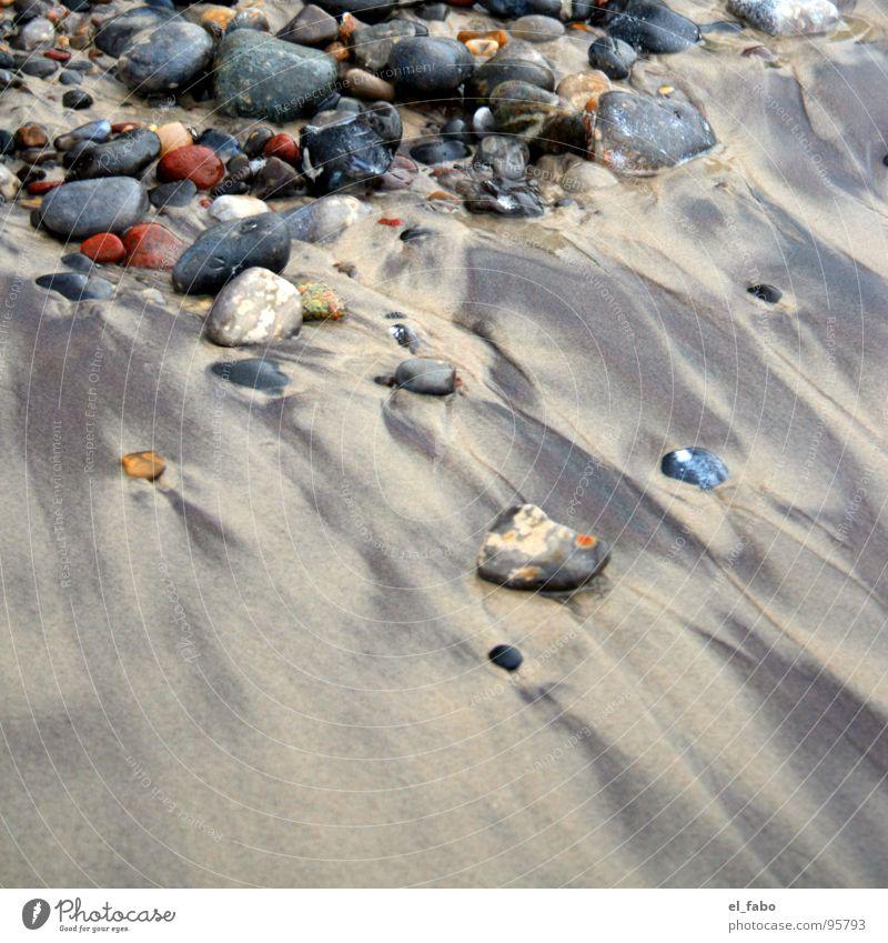 sandsteine Meer Strand Küste Nordstrand Rügen mehrfarbig Ferien & Urlaub & Reisen dunkeldeutschland Ostsee Nordsee Sand Stein Erholung sommer sonne herzinfakt