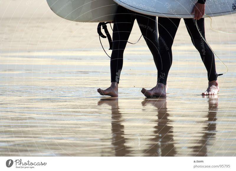 300 Meter Wasser Meer Strand Herbst Wellen Küste Surfer Kautschuk Wassersport Atlantik Ebbe Surfbrett Neopren Seignosse