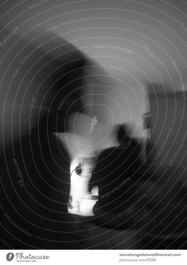 movin'holle Nebel Menschengruppe Bewegung Schatten