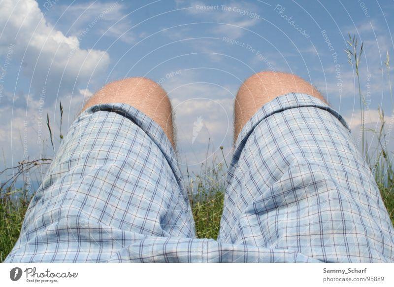 relax Himmel blau Sommer Strand Ferien & Urlaub & Reisen Shorts Badehose Kroatien