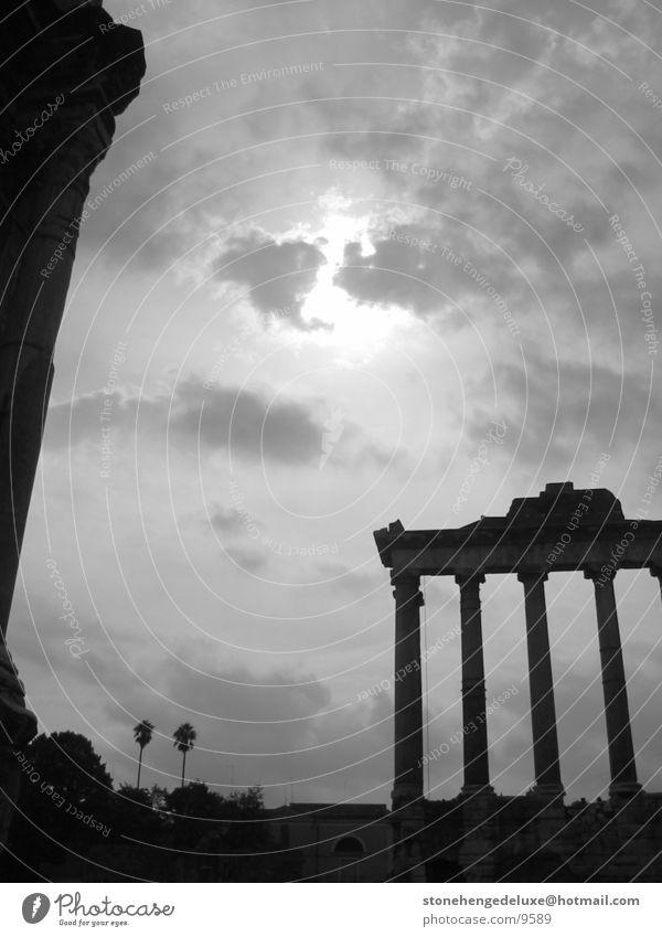 ForumRomanum Architektur Rom antik Forum Romanum Caesar Tempel