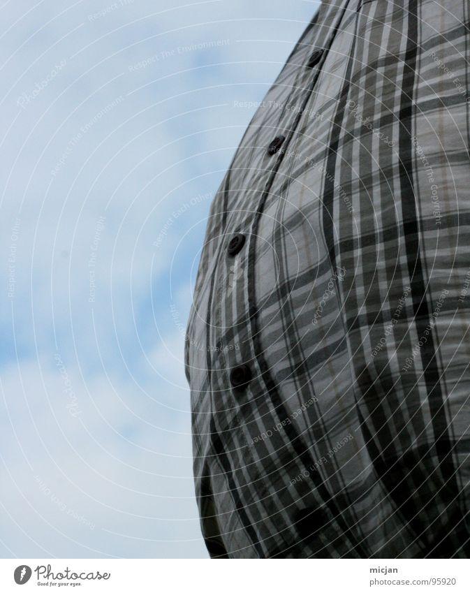 Super Size Me Mensch Himmel Mann Freude Wolken dunkel groß geschlossen Ernährung Luftballon rund Übergewicht Hemd Kugel dick dumm