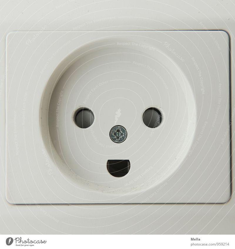Rømø | Strom aus glücklichen Steckdosen weiß Freude Umwelt Gesicht lachen Stimmung Energiewirtschaft Zufriedenheit modern Technik & Technologie Elektrizität