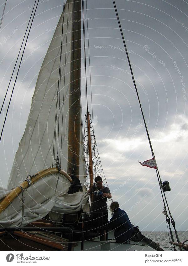 sailing 1 Wasser Sturm Schifffahrt Segel