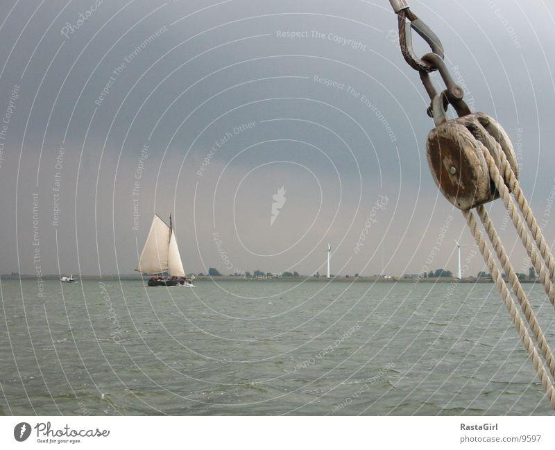 sailing 2 Wasser Wasserfahrzeug Aussicht Sturm Schifffahrt