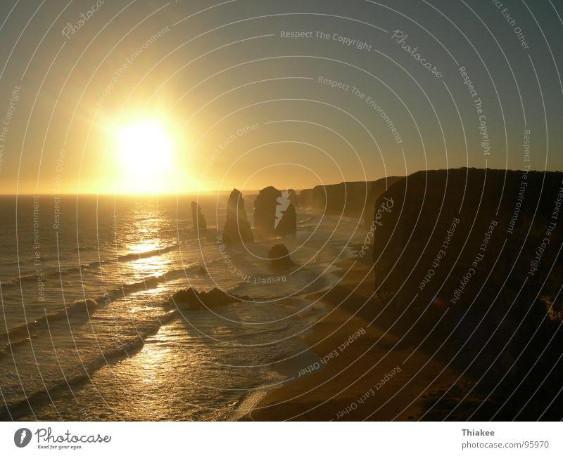Twelve Apostels Meer Strand Erholung Küste Romantik Australien Paradies Great Ocean Road