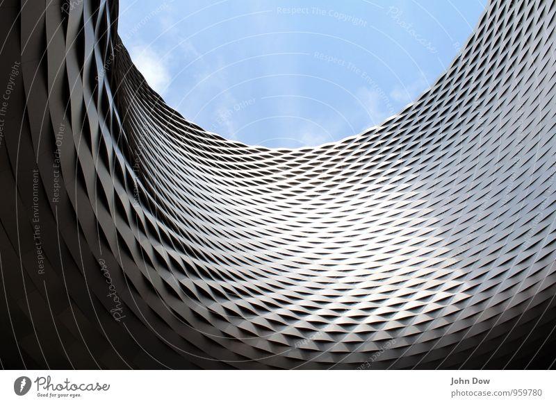 curve Himmel Architektur rund Zufriedenheit innovativ Dynamik Erfolg Drehung Futurismus aufwärts geflochten modern Bewegung Coolness ästhetisch Design High-Tech