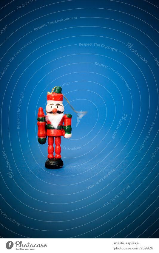 Nussknacker Stadt Weihnachten & Advent blau grün rot Freude schwarz Gefühle Stil Glück Lifestyle Feste & Feiern Arbeit & Erwerbstätigkeit Wohnung Design elegant