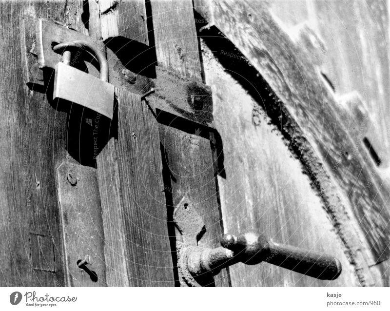 Old Door alt Holz Tür Industrie Burg oder Schloss