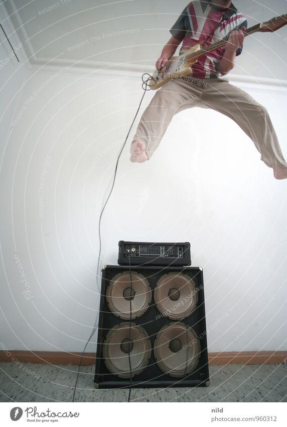 Rock da House 2014 Lifestyle Stil Freude Freizeit & Hobby Spielen Mensch maskulin Junger Mann Jugendliche Erwachsene 18-30 Jahre 30-45 Jahre Kunst Musik Konzert