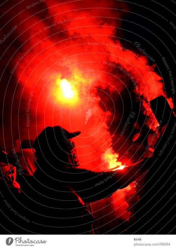 Pyromanie rot Freude Spielen Gefühle Feste & Feiern Brand gefährlich heiß