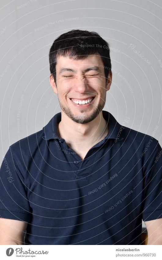 MP86 - Ausgelacht Mensch Jugendliche schön Erholung Junger Mann 18-30 Jahre Gesunde Ernährung Erwachsene Gesicht Leben lustig Gesundheit lachen Freundschaft