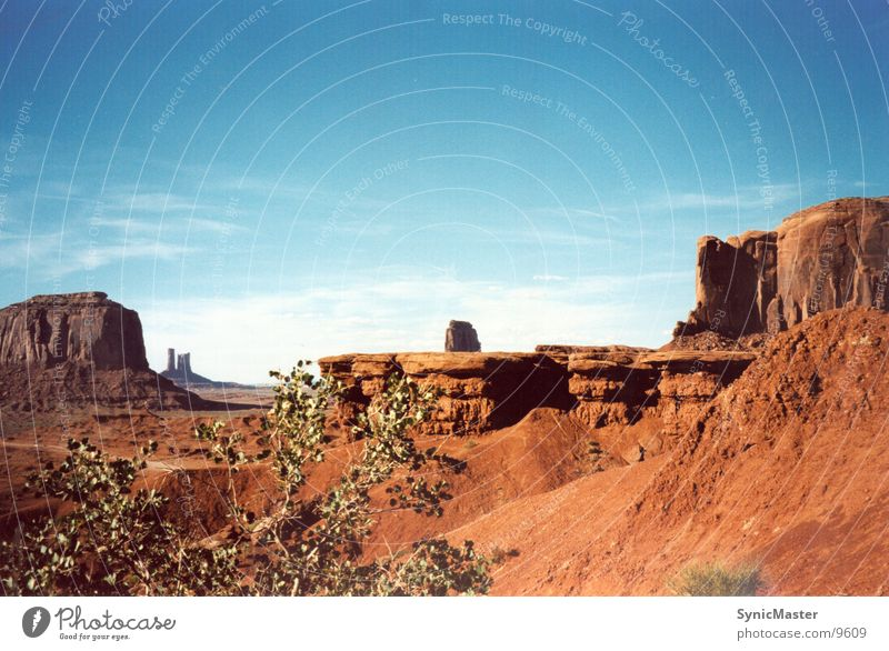 Monument Valley Ferien & Urlaub & Reisen Berge u. Gebirge USA Arizona