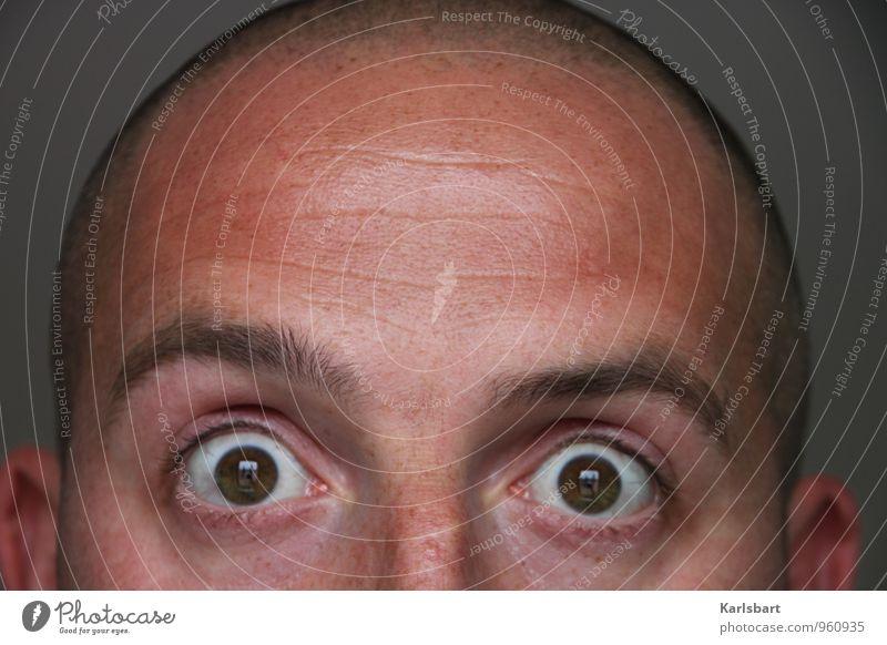 500 Mensch Jugendliche Mann 18-30 Jahre Erwachsene Auge Leben Lifestyle Haare & Frisuren Kopf Arbeit & Erwerbstätigkeit maskulin Behaarung Angst lernen Studium