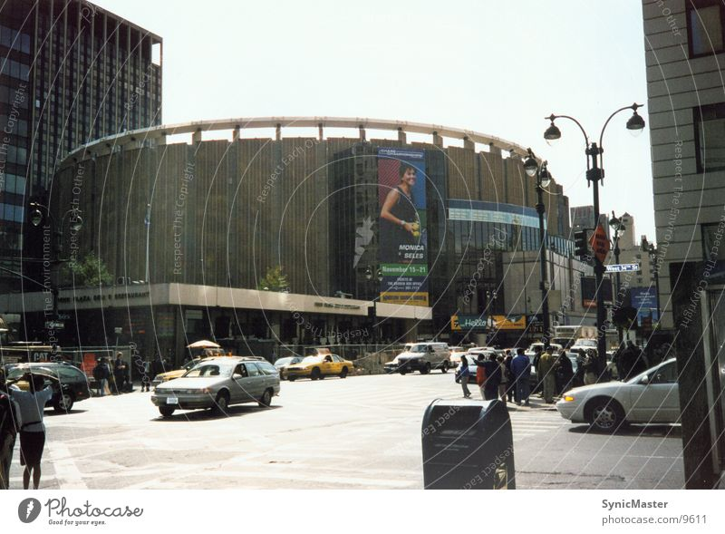 Madison Square Garden USA New York City Manhattan Basketball Nordamerika