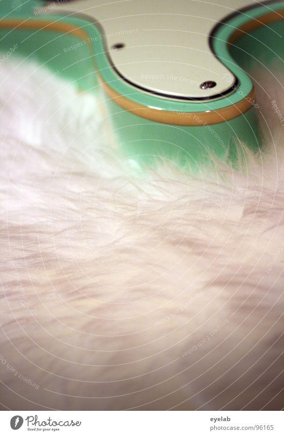Gitarren Dildo (Ausführung B) Musik Haut glänzend weich Fell Konzert türkis Gitarre Starruhm Schaf Punk Sechziger Jahre Schraube Schalter Entertainment elektrisch