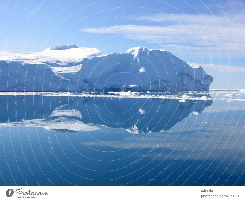 Cool Water V Himmel Sonne Meer Sommer Schnee Berge u. Gebirge Dänemark Alm Eisberg Skandinavien Grönland Ilulissat