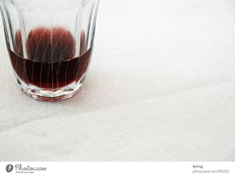 viertel Glas Pflaumensaft Glas Glas Getränk trinken Gastronomie Alkohol Durst Saft Prisma Rotwein Erfrischungsgetränk Winzer Sirup Bügelfalte Likör