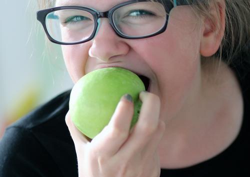 Esst mehr Obst Lebensmittel Frucht Apfel Ernährung Essen Bioprodukte Vegetarische Ernährung Diät Fasten Gesundheit Gesunde Ernährung Fitness Sport-Training