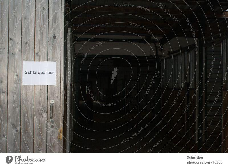 Schlafquartier Erholung schlafen Hinweisschild Hotel Bauernhof Stadtteil ruhen Pension Herberge Thüringen Schilder & Markierungen Unterkunft