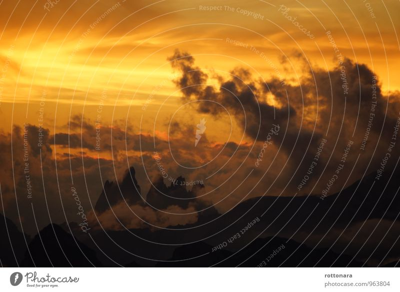 Il Più Grande Spettacolo Dopo Il Big Bang Natur Landschaft Erde Himmel Sonnenaufgang Sonnenuntergang Sonnenlicht Unwetter Sturm Felsen Alpen Berge u. Gebirge