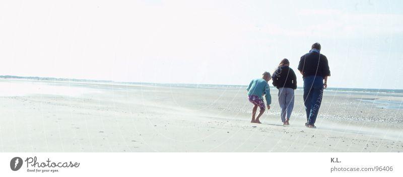MJB Wasser alt Strand Ferien & Urlaub & Reisen Ferne Erholung Bewegung Stimmung Wellen Küste Wind Horizont Ausflug Spaziergang Dynamik Nordsee