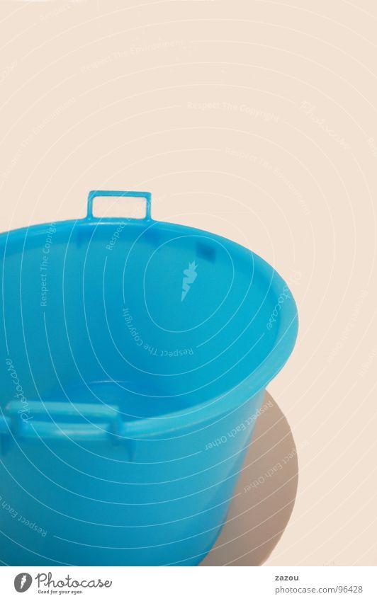 60° Kübel Eimer Waschsalon Wäsche Reinigen Behälter u. Gefäße Wasserbehälter Bad Schalen & Schüsseln Plastikschüssel blau Statue