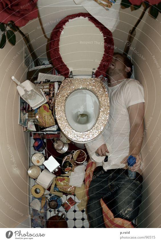 offen für alles. Geruch kämpfen Spray Versorgung Camping Stuhlgang Plüsch glänzend WCsitz Nacht Toilettenpapier Bad Toilettenbürste fließen Mann ungemütlich