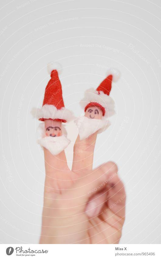 Friede, Freude, Weihnachten Mensch Mann Weihnachten & Advent Hand Erwachsene Senior Gefühle lustig Spielen Stimmung Freundschaft maskulin Freizeit & Hobby
