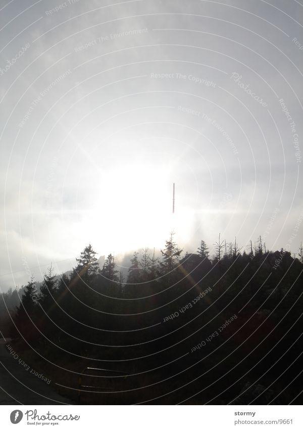 Jesken Wald Horizont Europa Berge u. Gebirge Himmel Polen Sonne