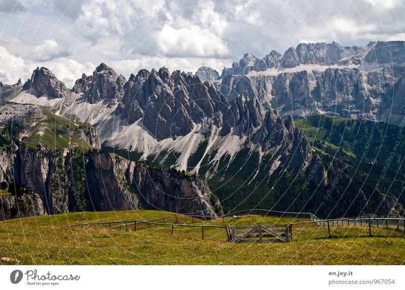 Der Zahn der Zeit Ferien & Urlaub & Reisen Tourismus Abenteuer Ferne Freiheit Sommerurlaub Berge u. Gebirge Natur Landschaft Klima Klimawandel Felsen Alpen