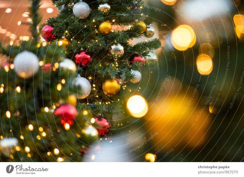 Season's Greeting II Weihnachten & Advent Baum Beleuchtung Feste & Feiern Dekoration & Verzierung leuchten Kitsch Weihnachtsbaum Tanne Christbaumkugel