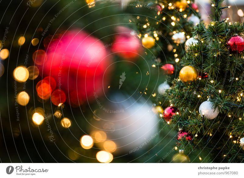 Season's Greeting III Weihnachten & Advent Baum Beleuchtung Feste & Feiern Dekoration & Verzierung leuchten Kitsch Weihnachtsbaum Tanne Christbaumkugel